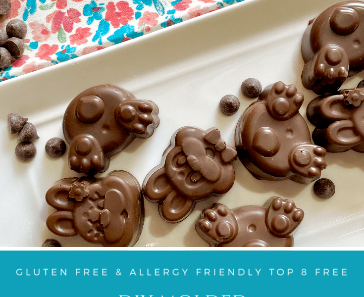 DIY Molded Chocolate Candies | Easter | Allergy Friendly | Vegan | Gluten Free