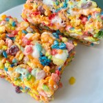 Fruit Rainbow Cereal Treats | Allergy Friendly | Gluten Free | Vegan | Top 9 Free