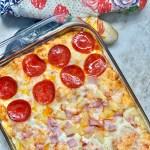 pizza casserole | allergy friendly | egg free | soy free | peanut free | tree nut free | sesame free