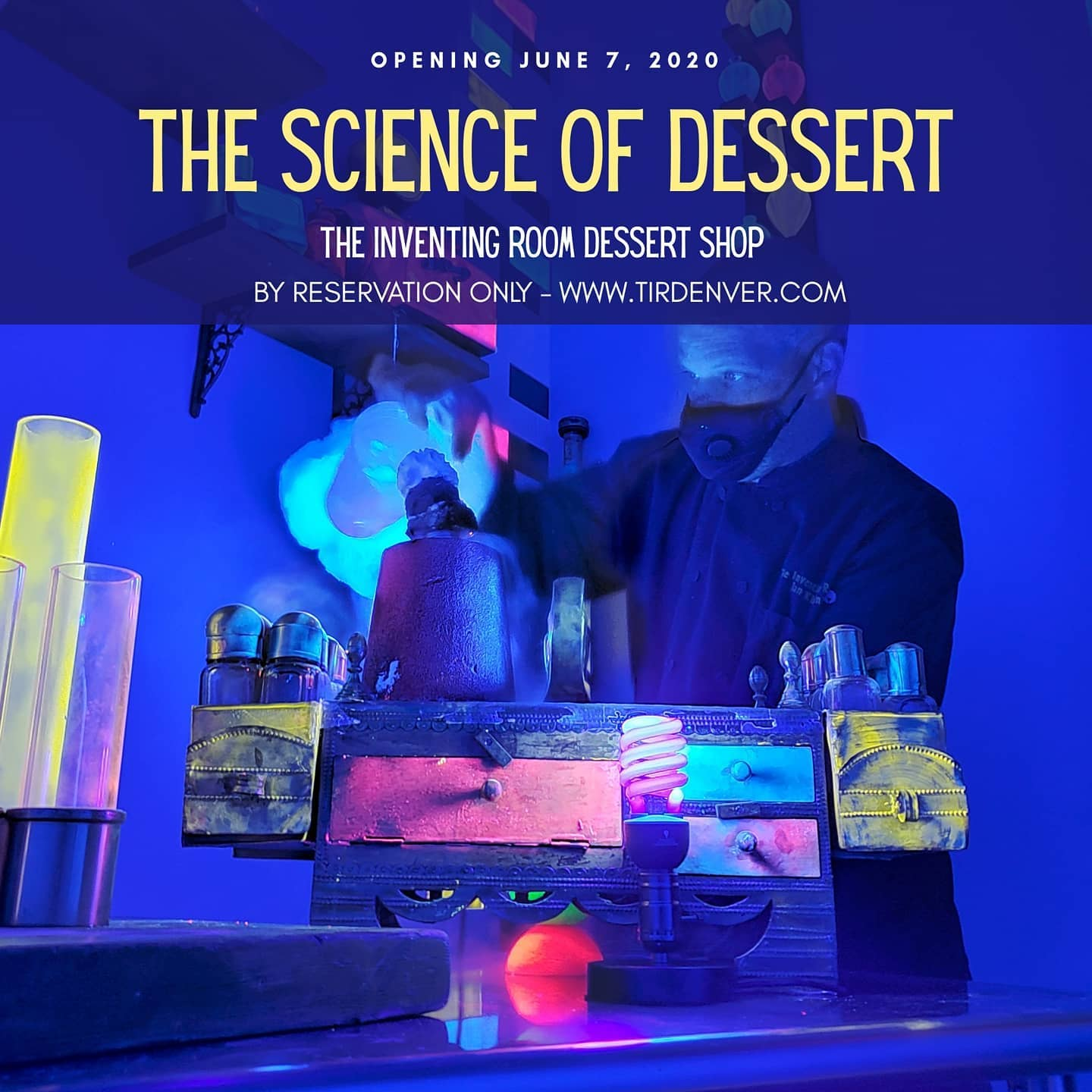The Science of Dessert presented by The Inventing Room Dessert Shop