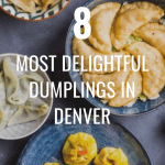 An assortment of different kinds of dumplings that can be found in local Denver restaurants