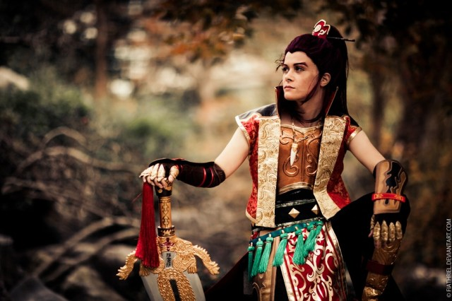 Asham Cosplay as Sun Quan from Dynasty warriors 6, photo by Rachel Lewis