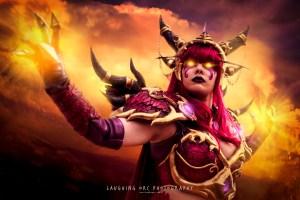 Alexstrasza, Demon, Magic, Cosplay, Armor