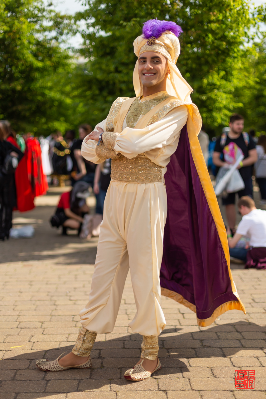 Prince Aladdin by twistedbeardcosplay