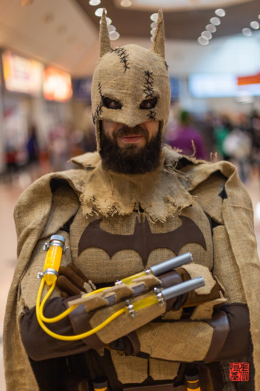 Batman/Scarecrow by stay_puft_cosplay