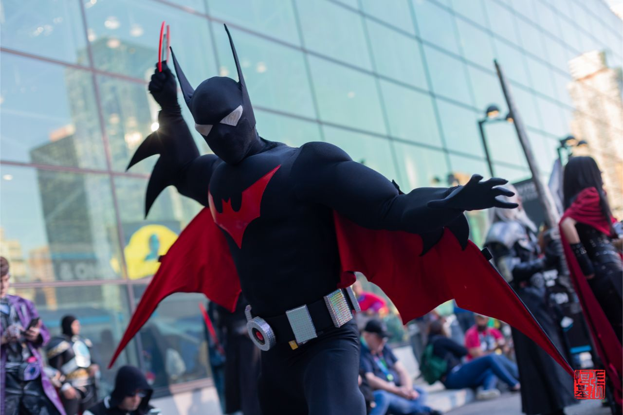 Batman Beyond by larryme2017