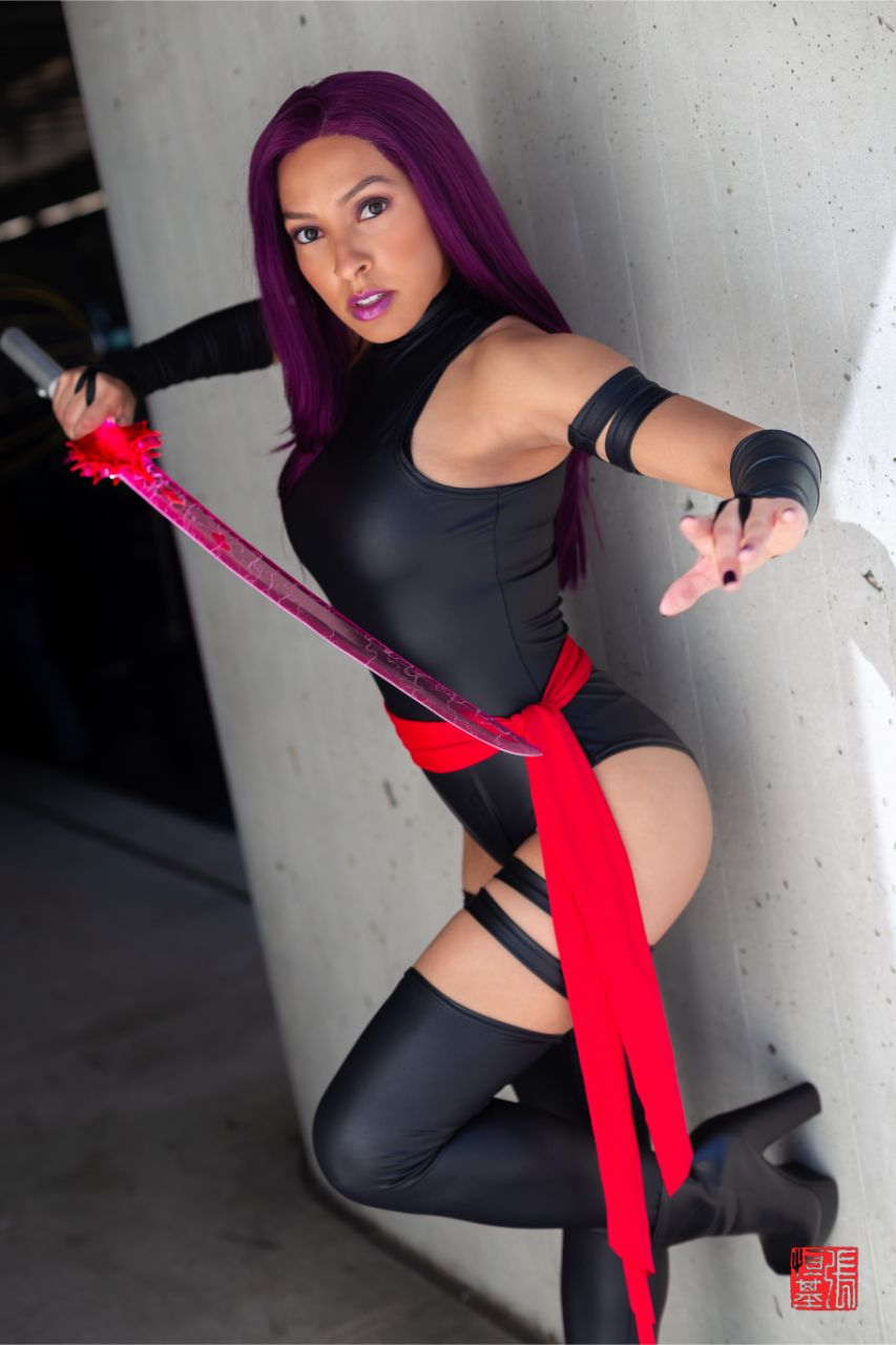 Psylocke / X-Men by Utahime Cosplay