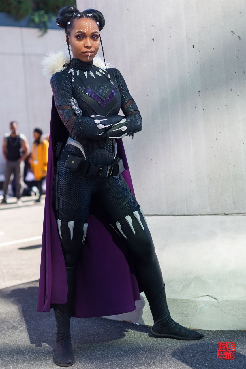 Black Panther (Shuri) by CutiePieSensei