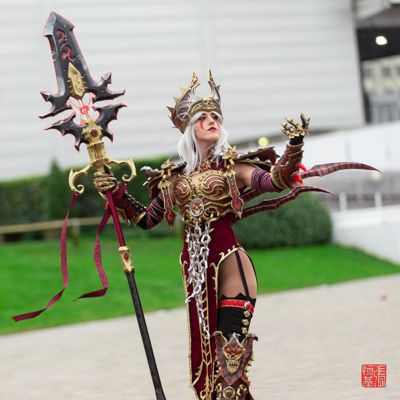 Sally Whitemane / World of Warcraft by Azrael Charlotte Cosplay