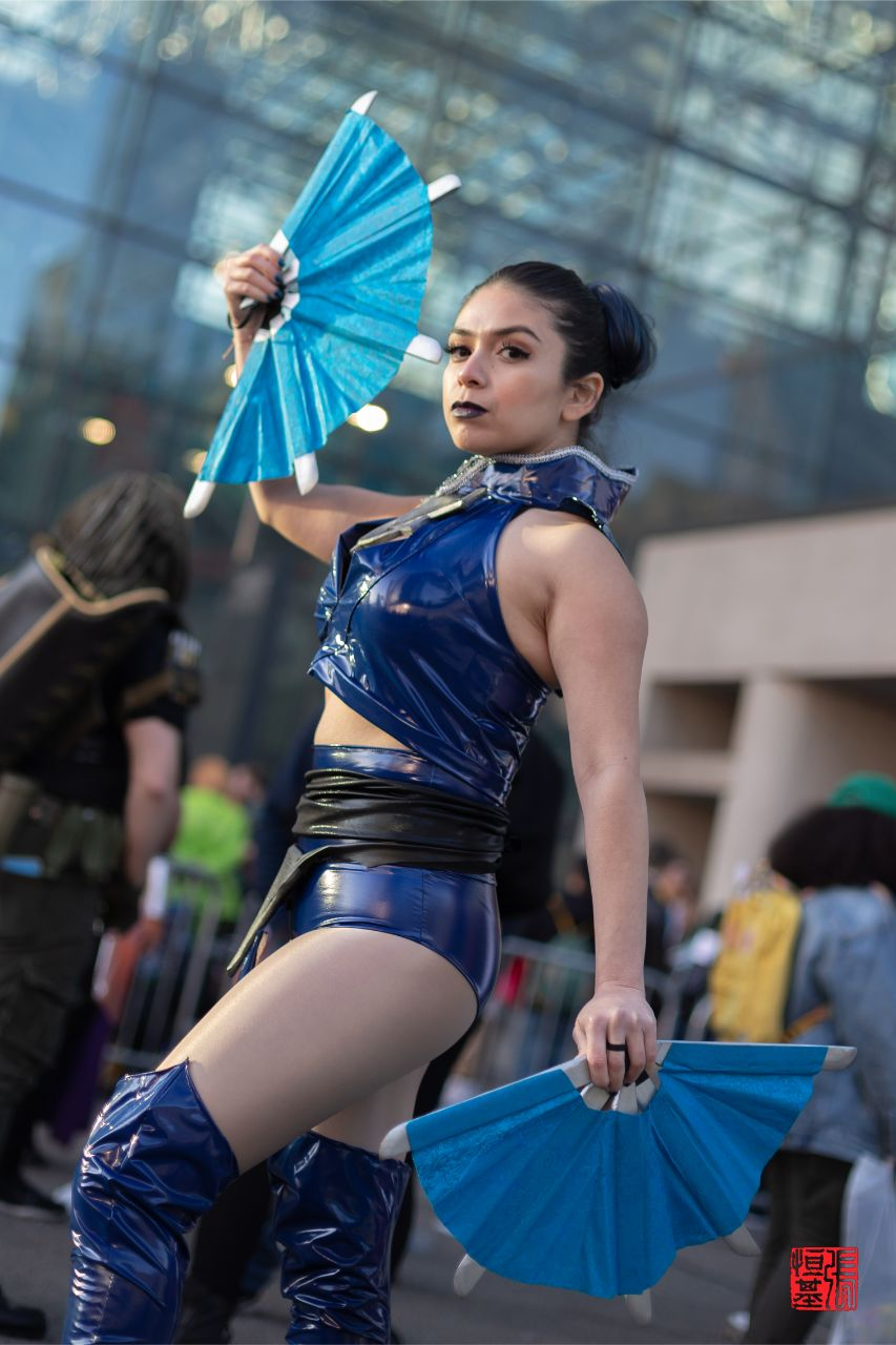 Kitana / Mortal Kombat By Miss Gidget