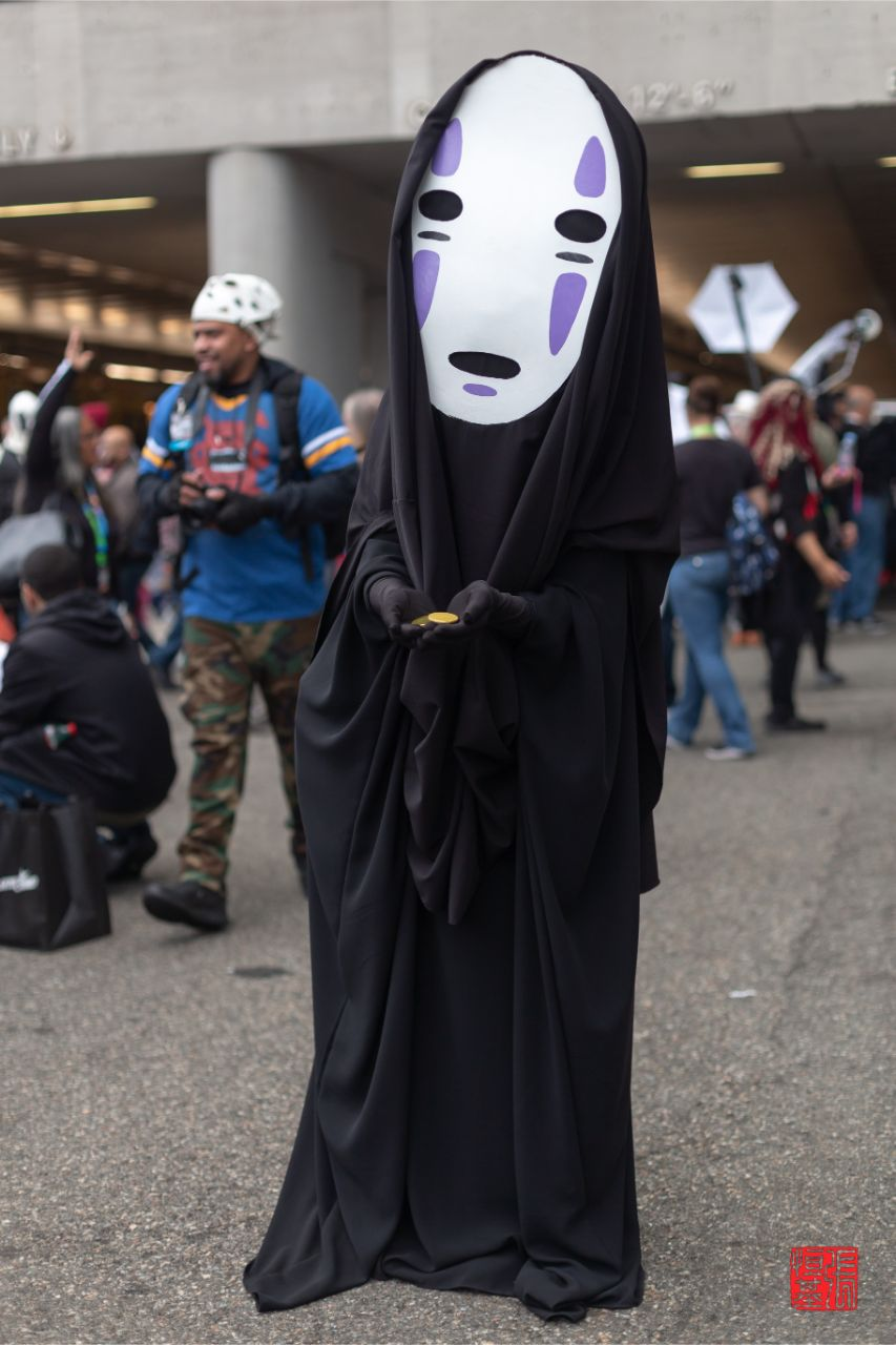 No Face / Spirited Away by Hwarak Cosplay