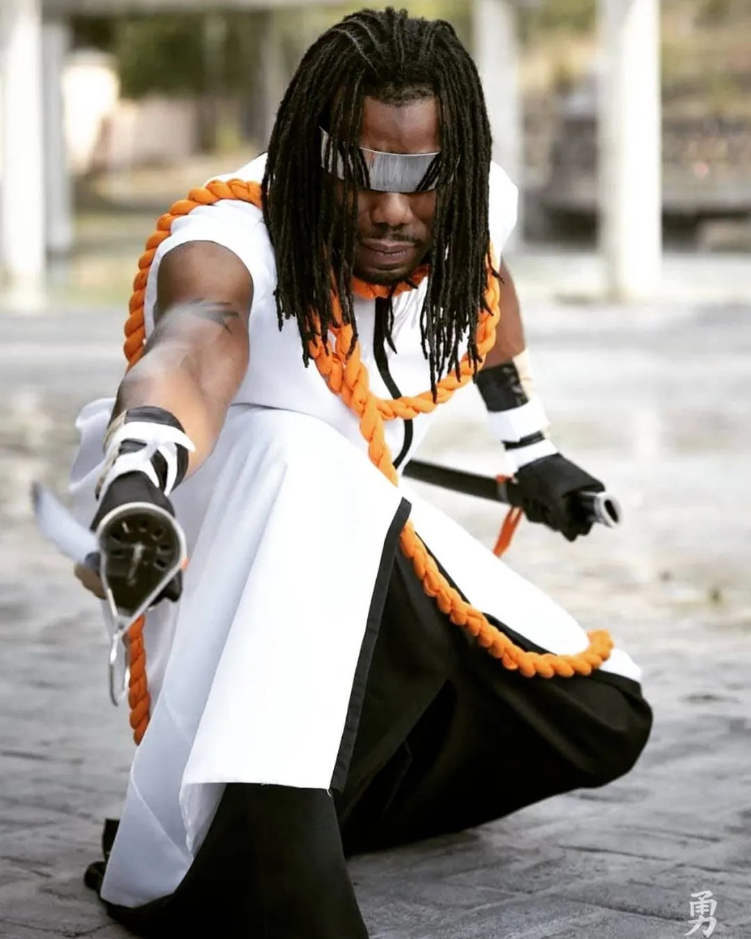 Cosplay Stories : Kaname Tosen / Bleach by Claudexcosplay