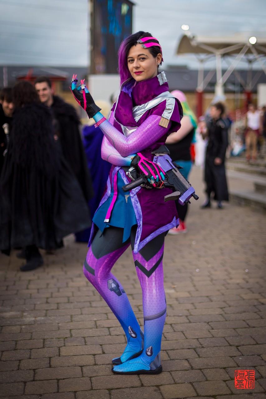 Sombra / Overwatch by Amy_Elizamay
