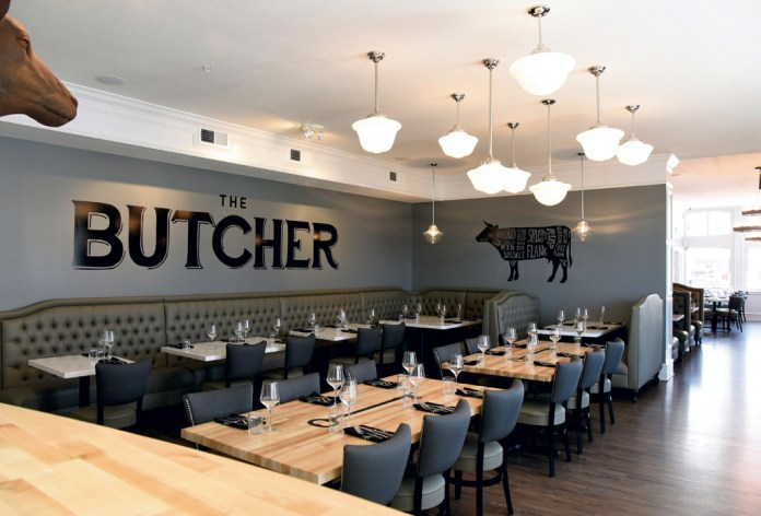 Brooklyn and the Butcher dining room