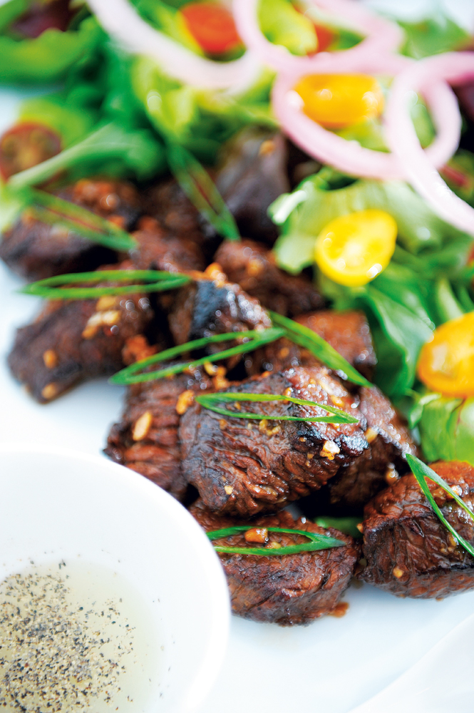 Nam Nam Café's Bo Luc Lac (shaking beef)