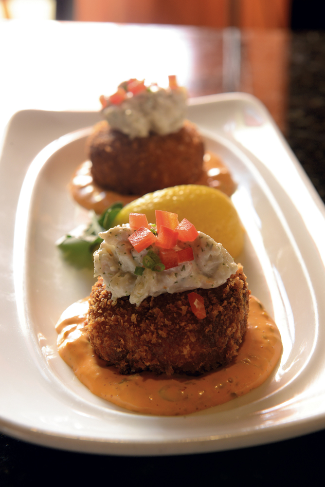 Equus's crab cakes— Corbett estimates his restaurant has served more than 750,000 of the dish since he opened.