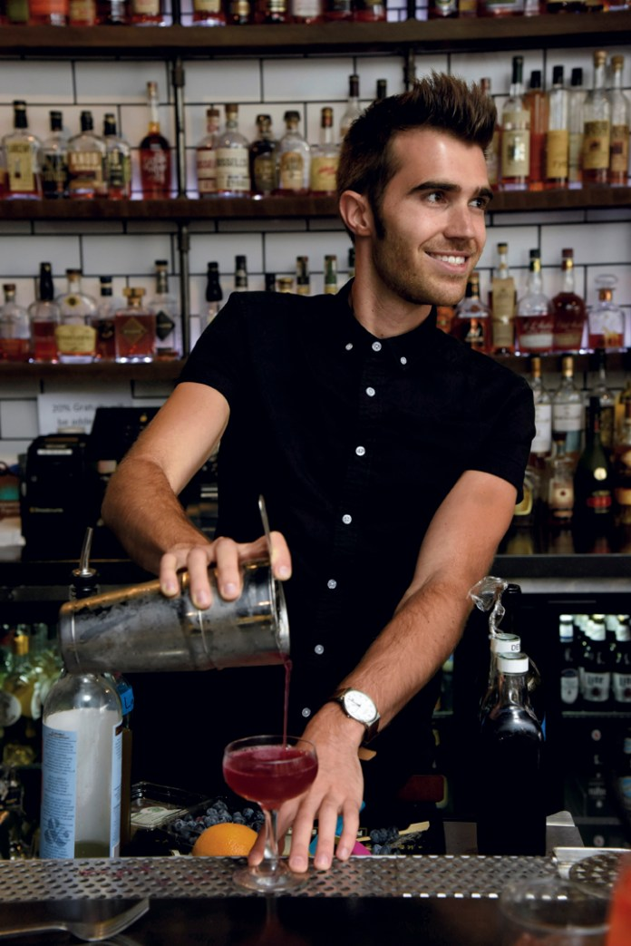 Co-owner and Beverage Manager Eric Wentworth