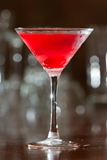The Yuletide Martini (with cranberry sauce!)