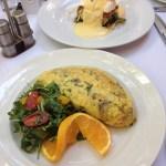 Rosebud Prime's big omelette
