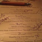 Wildfire Cambria menu