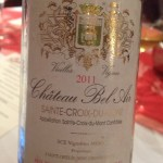 One of multiple wine pairings from Shaw's somm