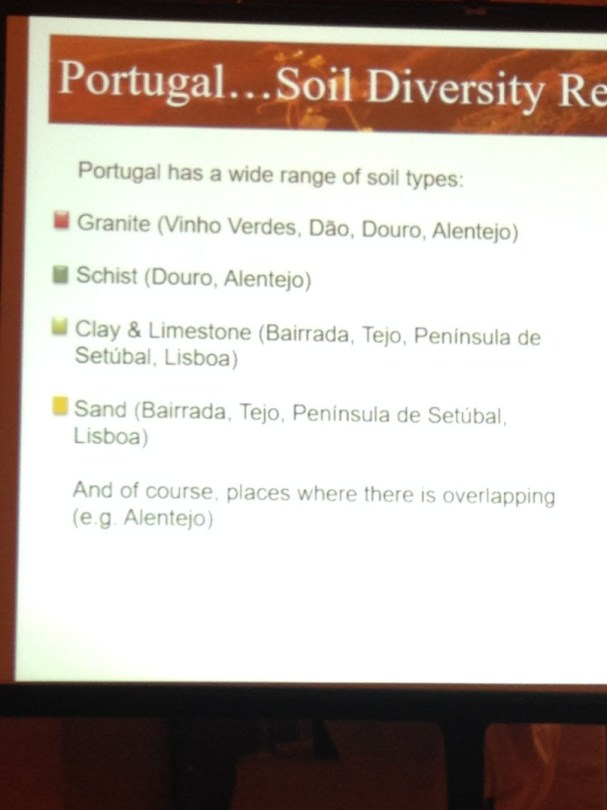 Dramatic differences in Portuguese soils