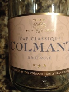 Colman Brut Rose from South Africa
