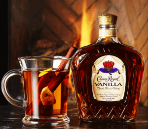 Crown Royal vanilla in a hearth- and heart-warming drink