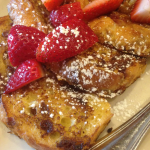Maggiano's creme brulee French toast