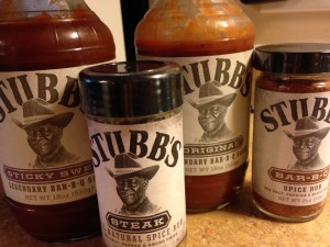 Stubbs makes BBQ sauces, marinades, rubs and more