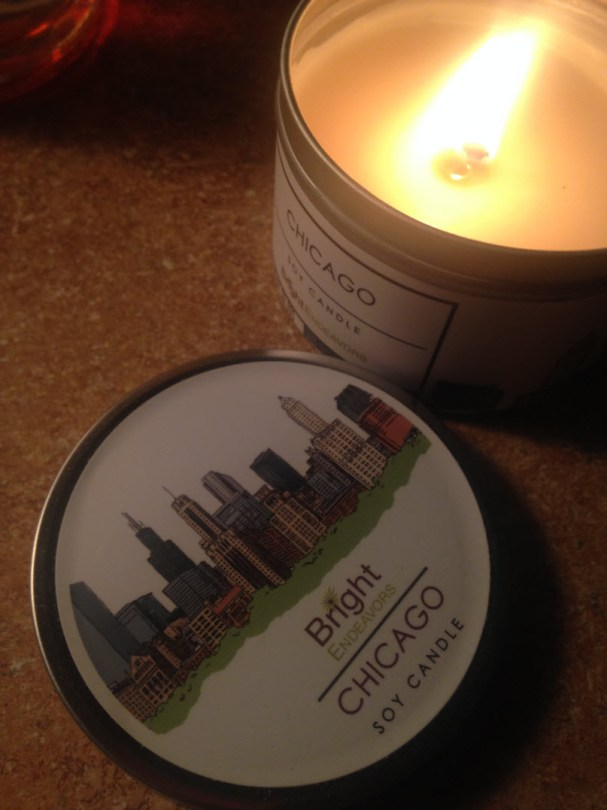 Chicago soy candle proceeds help young mothers