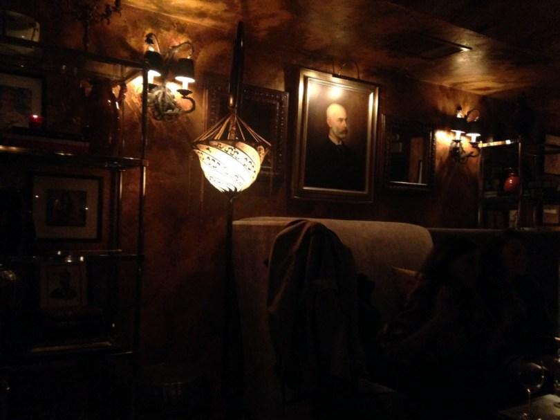 Marchesa's dark and cozy cave