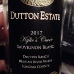 Sonoma 2017 Kylies Cuvee Sauv Blanc sustain label