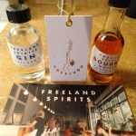 Freeland spirits gin and whiskey