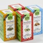 Several varieties of Vegetarian Traveler Protein Toppers