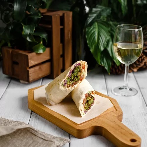 wraps Food and Events