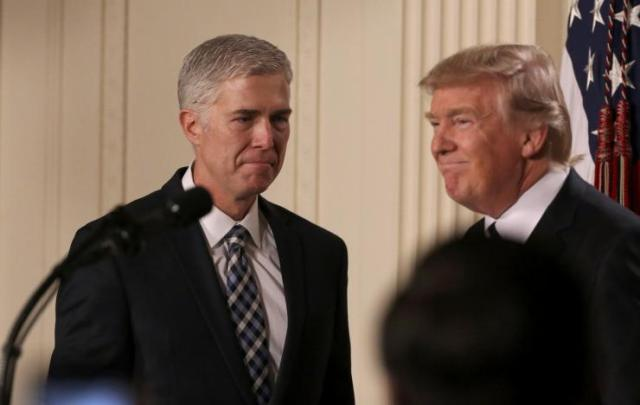 Trump picks conservative judge Gorsuch for U.S. Supreme Court