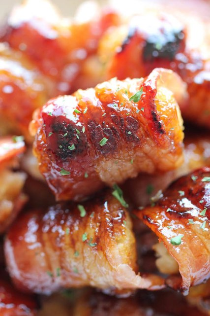 BACON WRAPPED TATER TOT BOMBS