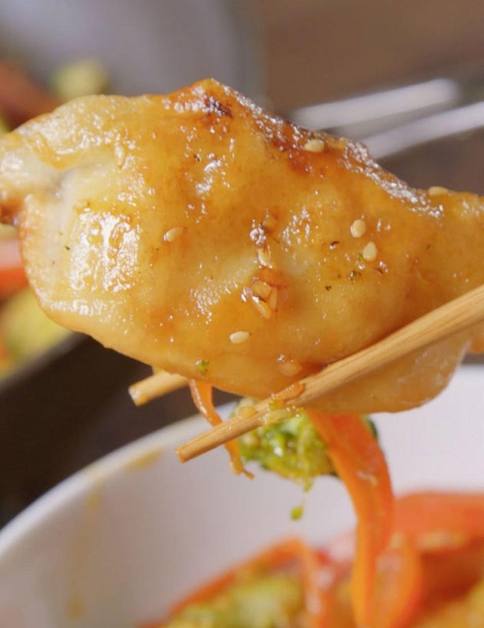 Dumpling Stir Fry