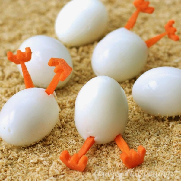 Hatching Hard Boiled Eggs
