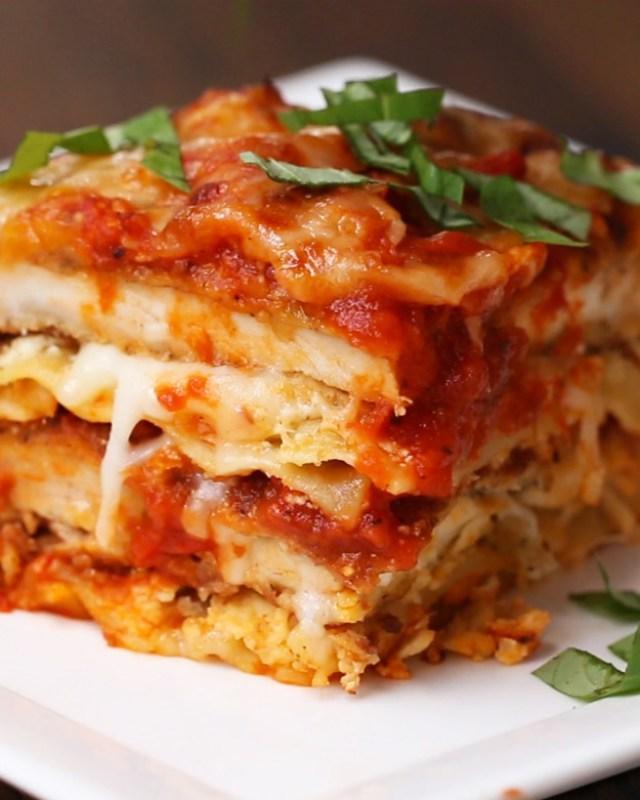 Chicken Parm Lasagna