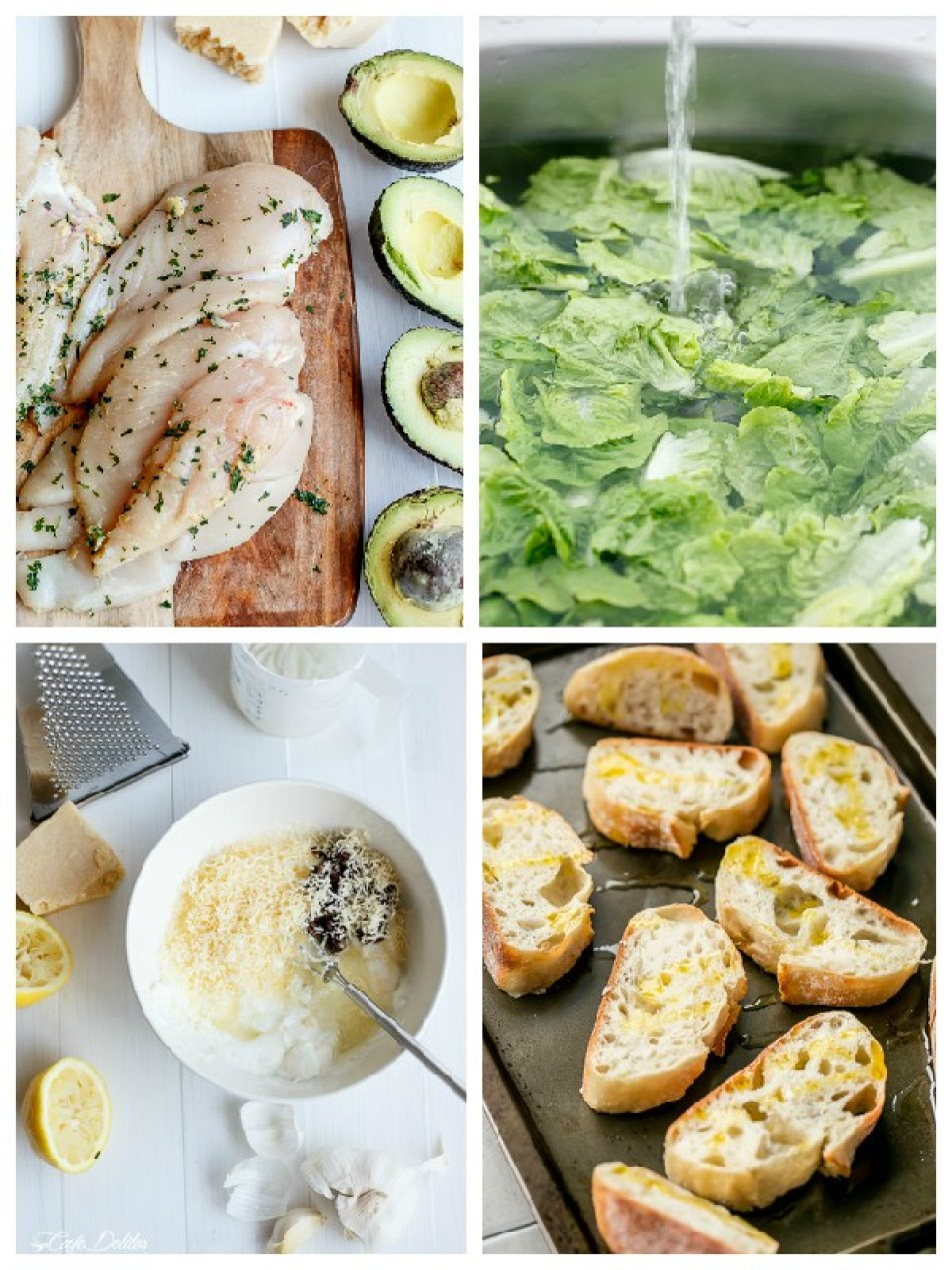 skinny-chicken-and-avocado-caeser-salad