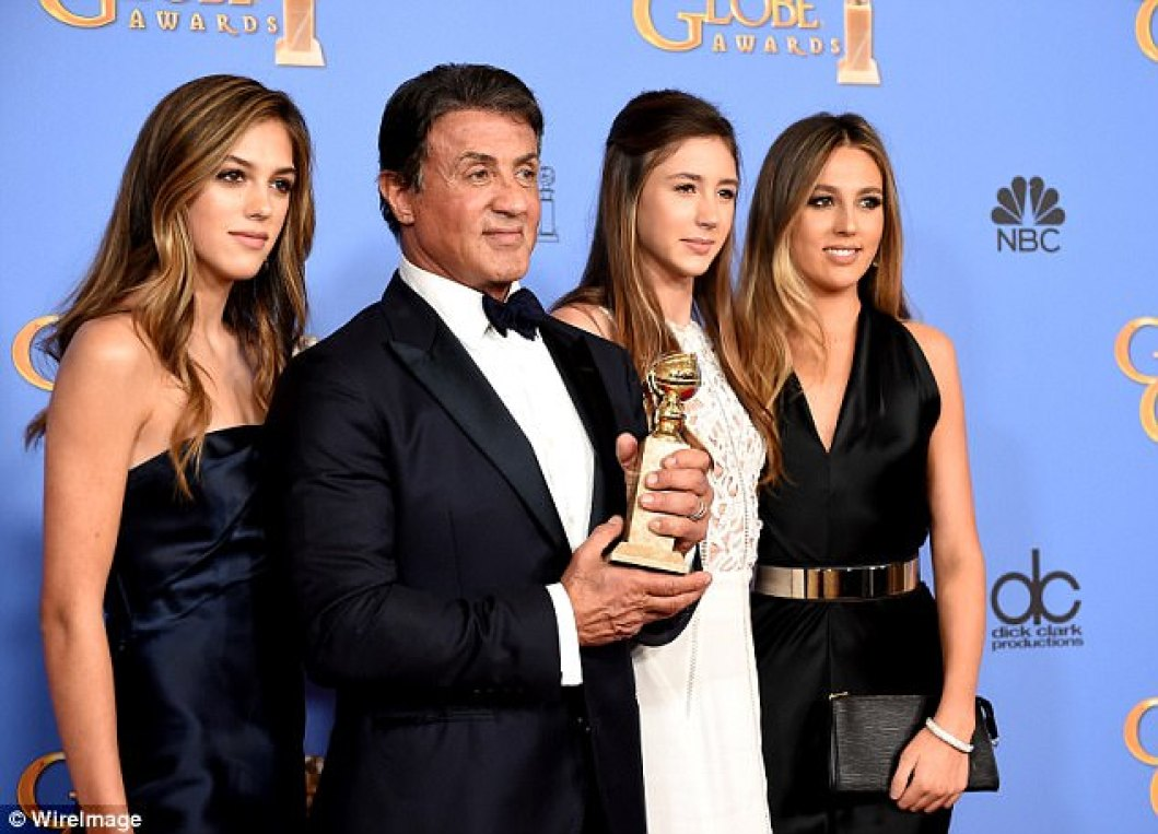 Celeb Kids – All Grown Up! Sylvester Stallone's Daughters