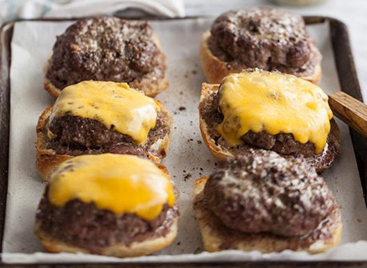 Daddy's Open Face Burgers