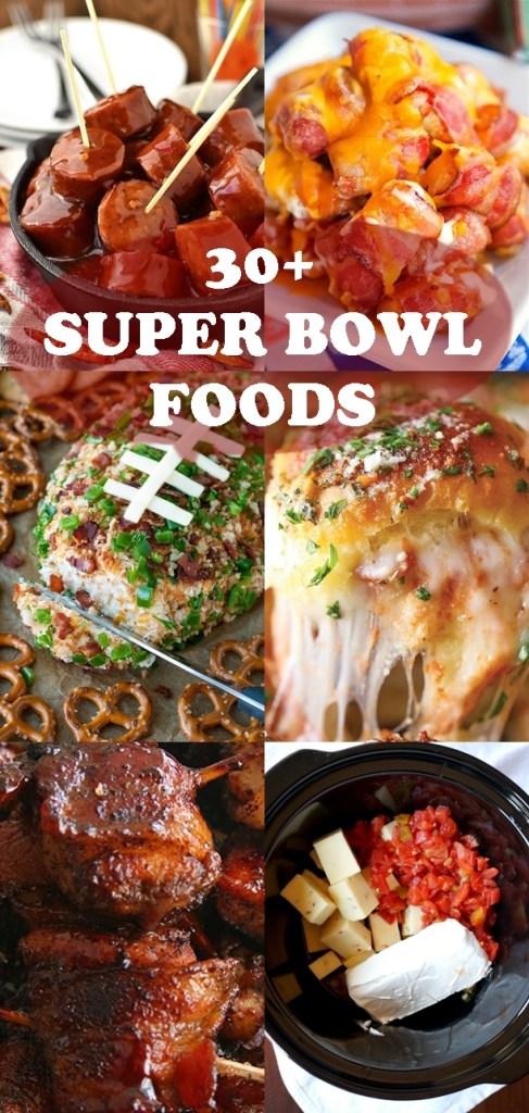 30+ SUPER BOWL FOODS
