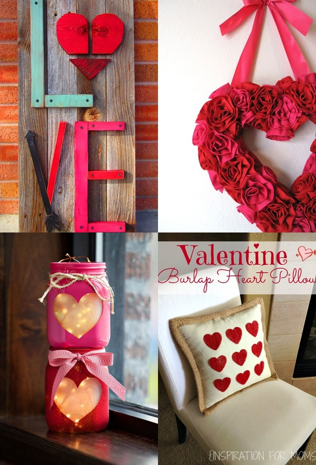 No Hassle Cute DIY Valentines Decor
