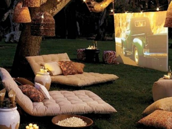 Summer Night Patio Ideas