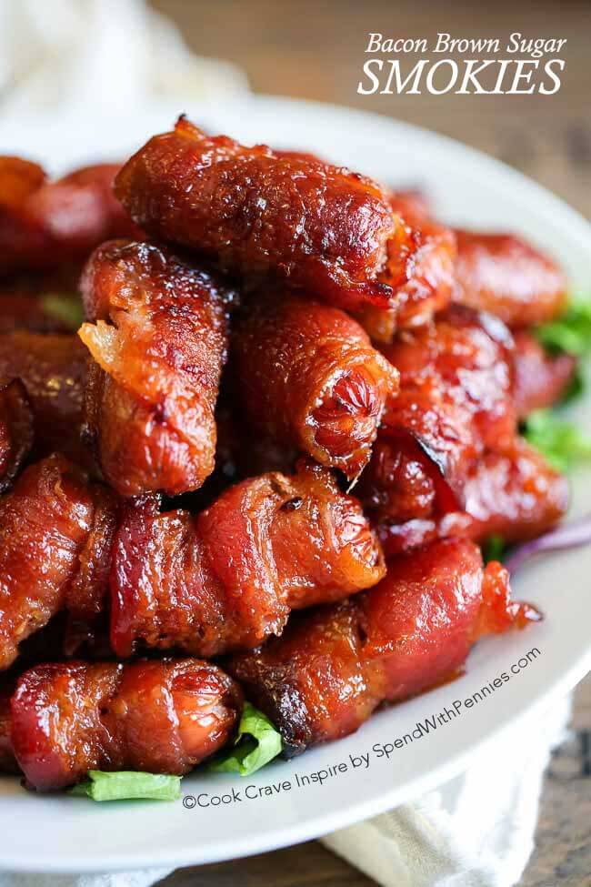 Bacon Brown Sugar Smokies