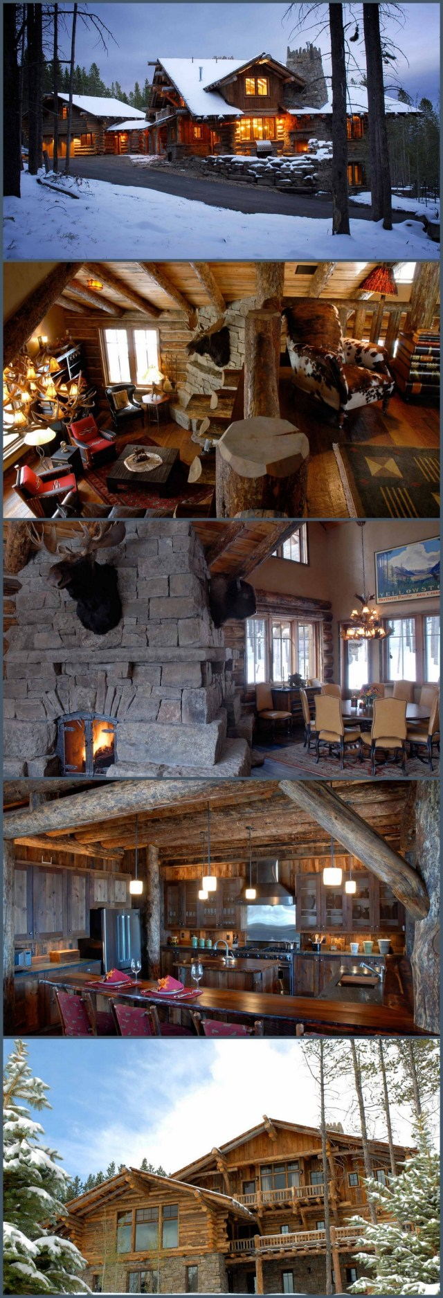 Dream Home~ Ski Haus by Lohss Construction