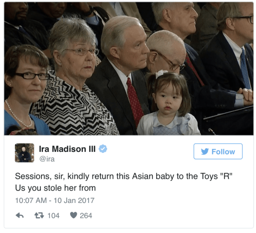 Jeff Sessions Attacked by MTV Ira